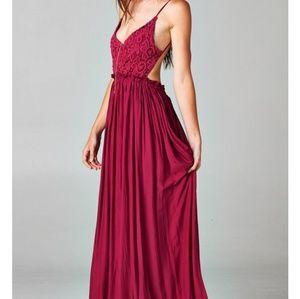 Lulu's maxi dress NWOT